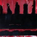 """Kollonaden"", Acryl auf Leinwand (40x30), ©2013"