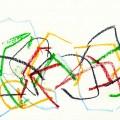 Aus der Erinnerung, Kreide auf Papier (21x29,5), ©2013